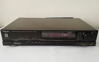 Technics St-G70L Class Aa Quartz Lw Mw Fm Stereo Tuner In Very Good Condition