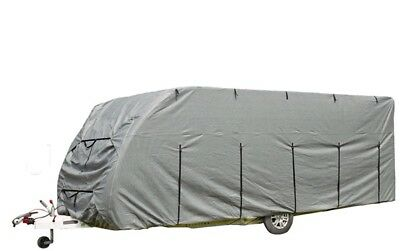 Caravan Cover Deluxe 17 - 19ft - Grey 923002 Royal New