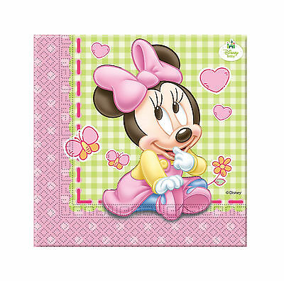 Pack 20 Servilletas Baby Minnie (8853)