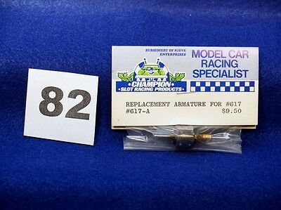 Champion Replacement Armature For A #617 #617A 26D Mabuchi Slot Car Motor
