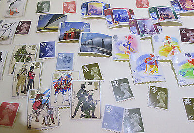 DISCOUNTED UK MINT STAMPS (UNUSED with GUM) for use as Postage - 20% Cheaper