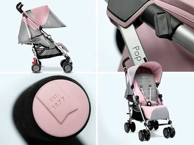 Silver Cross Pop 2 New In Box Buggy Pushchair Stroller Vintage Pink + Raincover