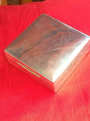 Silver Box 164 Grams - Birmingham 1910