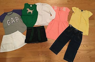 8 Piece Lot Girl's Size 10/12 Summer To Fall Clothes, NICE
