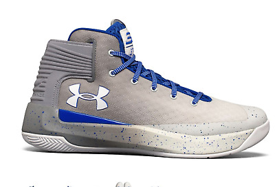 55af65d6ee6 New Mens UNDER ARMOUR CURRY 3ZERO 30 Stephen White Team Royal Blue Shoes h1