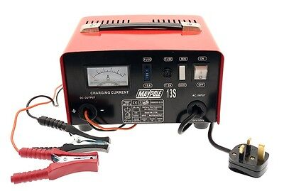 Maypole 713 8A Metal Battery Charger 12V New