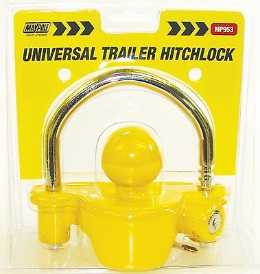 Universal Trailer Hitch Lock 953 Maypole Genuine Top Quality Product New
