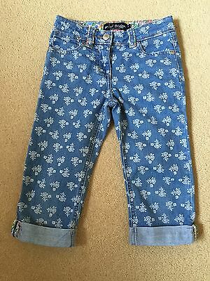 Girls Mini Boden 3/4 Trousers Age 6