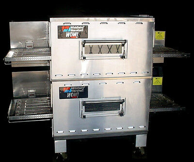 "Middleby Marshall PS640G WOW! Double Stack 24""Conveyor Gas Pizza Oven ~Warranty!"