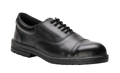 612 Executive Oxford Shoe Uk 12 FW47BKR47 Portwest Genuine Top Quality Product