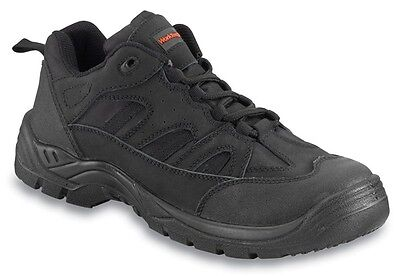 Safety Trainers - Black - UK 12 Worktough 72SM12 New