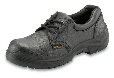Safety Shoes - Black - UK 10 Worktough 201SM10 New