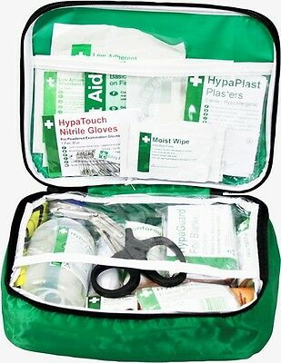 Vehicle First Aid Kit in Nylon Case Safety First Aid K3016VH New
