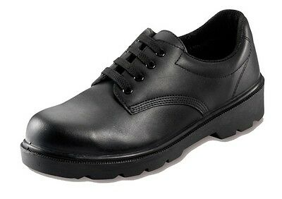 Safety Shoes - Black - UK 7 Contractor 806SM07 New