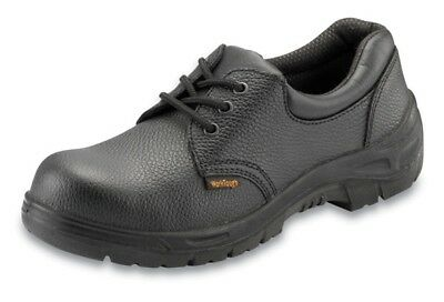 Safety Shoes - Black - UK 4 Worktough 201SM04 New