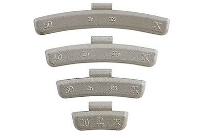 Wheel Weights 25g Box Of 100 32857 Connect New
