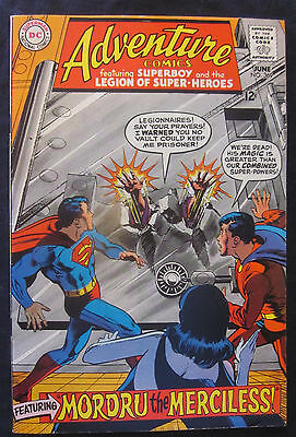 ADVENTURE COMICS #369 1968 DC Silver Age 8.5 VF+ SUPERBOY LEGION SUPERHEROES