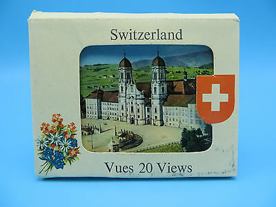 Vintage Lot of 14 Miniature Switzerland Post Cards - Scalloped Edges
