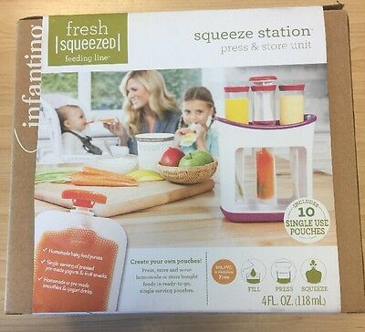 Infantino Squeeze Station Press And Store Unit