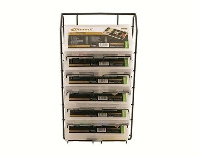 Assorted Box Rack 6 Tier 35017 Connect New