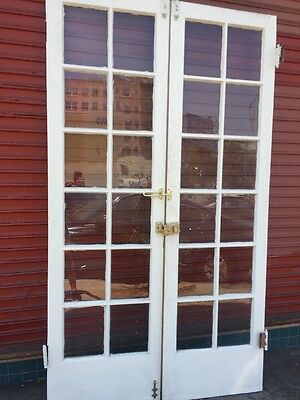 French Doors Old Thin 1930's Spanish 83-1/2 X 24""