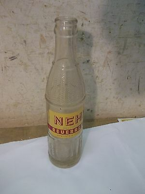 Old Beloit Kansas Soda Bottle Nehi Bottling