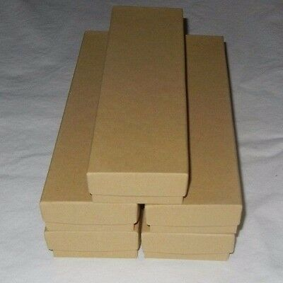 Jewelry Display Box Natural Kraft Brown Free Shipping