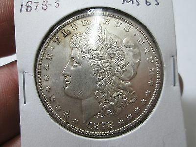1878 S Morgan Silver Dollar BU UNCirculated Condition
