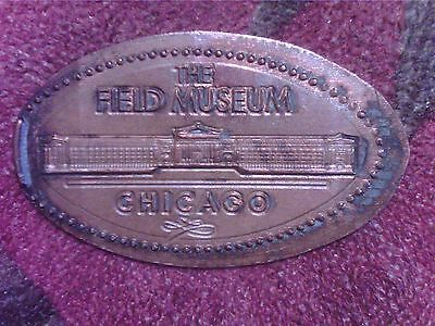 Elongated  Penny   The   Field  Museum    Chicago     #el1442