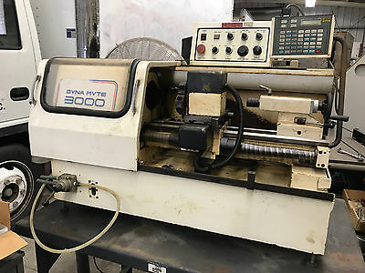 Dyna Myte 3000 Benchtop CNC Lathe with Tool Changer + Pneumatic Chuck