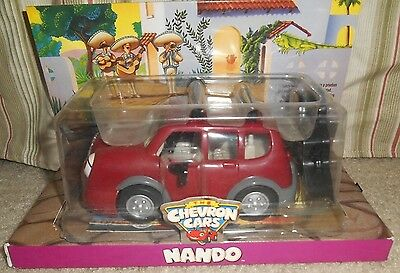 Toy Car NANDO Special Ed Spanish Version Chevron Car New Sealed Package 1997 NIP
