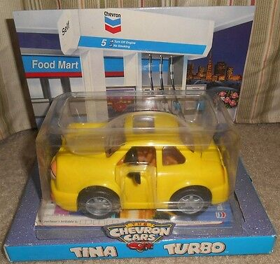 Toy Car TINA TURBO Chevron Cars New Sealed Package 1998 NIP
