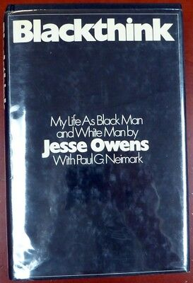"""Jesse Owens Authentic Certified Autographed Signed Book """"My Best Wishes"""" PSA/DNA"""
