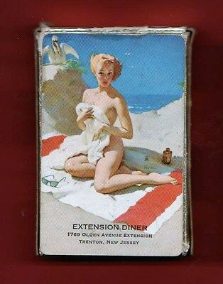 "54 Gil Elvgren Pinup Playing Card Deck  Advertising  ""BIRD'S-EYE VIEW"" 1950"