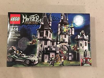 LEGO Monster Fighters 9468 Vampyre Castle – NEW Factory Sealed box – RETIRED