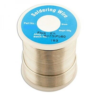 Solder Wire 16 Swg1.6mm 0.5kg  Pk1 34944 Connect New