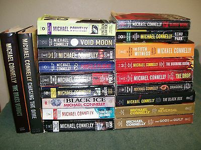 Lot Of 20 Michael Connelly Novels. Harry Bosch.mickey Haller.the Burning Room
