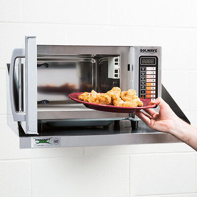 NEW! Solwave Stainless Steel Commercial Microwave 180MW1000SS 1000W Programmable