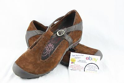 Merrell Women's Encore brown Suede Slip On Shoes Size 9
