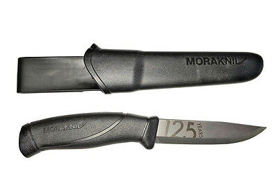 "Mora Of Sweden Morakniv 13024 Companion 125 Year ""black Anniversary Knife"""