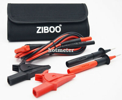 ZIBOO Test Leads & Test Probe Kit (FLUKE TL224,TP220,Alligator Cip)