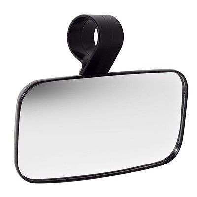 Center Wide Rear Clear Mirror for Universal UTV Off Road Large Adjustable 1.5-2""