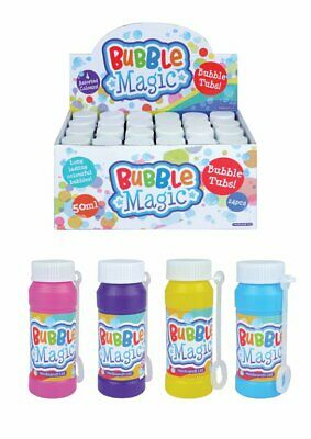 24 Bubble Magic Liquid Tubs - Birthday Party Loot Bag Filler Childrens Kids Toy