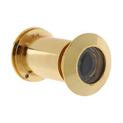 Door Viewer Security Peep Hole for Front Door 220 Degree Wide Angle with Cover