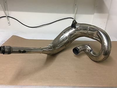 FMF Fatty Pipe 05,06,07 Honda CR250 Exhaust Expansion Chamber Nickel 021052