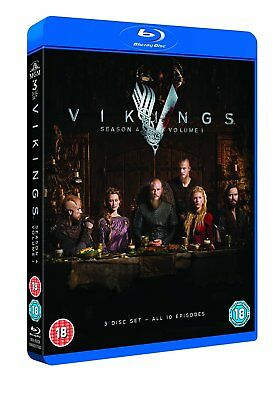 VIKINGS Season 4 Volume 1 Blu-Ray NEW