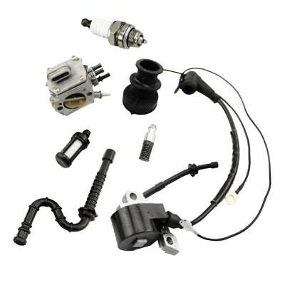 Carburetor Ignition Coil Part Fuel Line for STIHL MS290 MS310 MS390 Chainsaw
