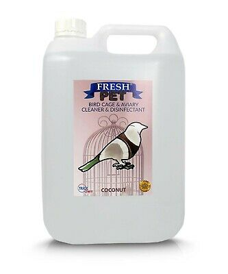 5L FRESH PET Bird Specialist Disinfectant, Cage Cleaner  - COCONUT