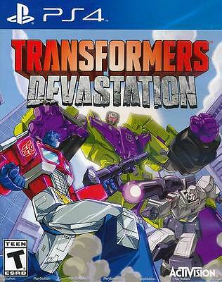 Transformers Devastation PS4 Game Brand New Sealed