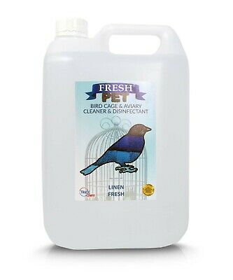 5L FRESH PET Bird Specialist Disinfectant, Cage Cleaner  - FRESH LINEN